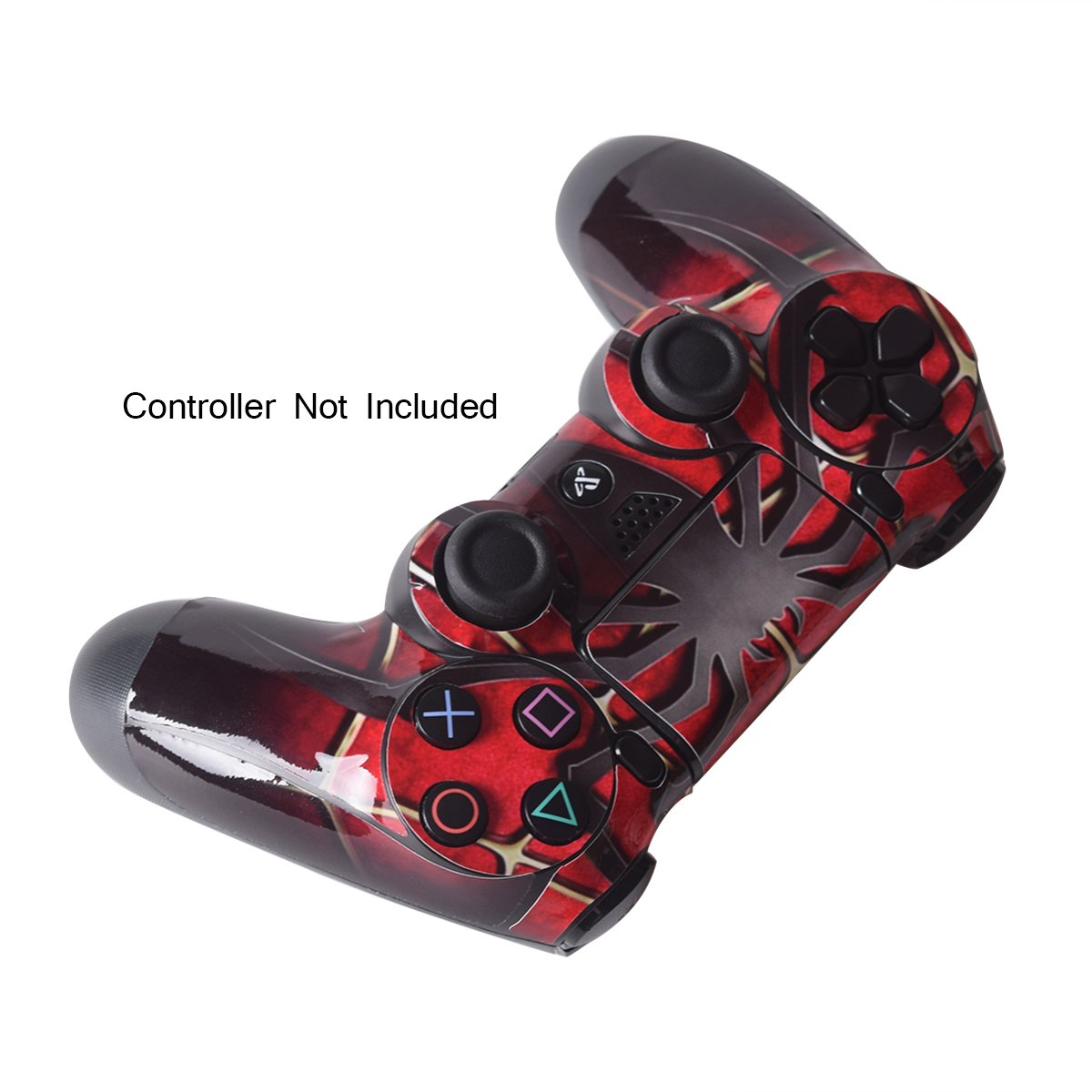 PS4 Skins Playstation 4 Games Sony PS4 Games Decals Custom PS4 Controller Stickers PS4 Remote Controller Skin PS4 Remote Play Sticker Playstation 4 Controller Dualshock 4 Vinyl Decal Widow Maker Spider