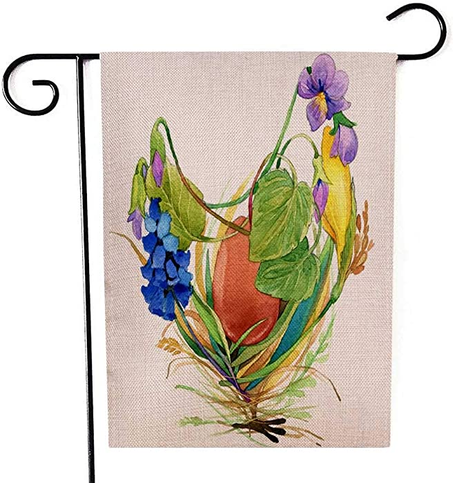 Top 10 Garden Flag With Chicken And Or Eggs