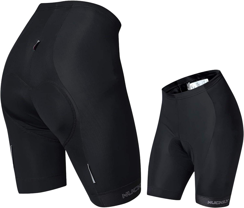 nuckily Women Cycling Shorts Summer Bicycle Shorts Pad