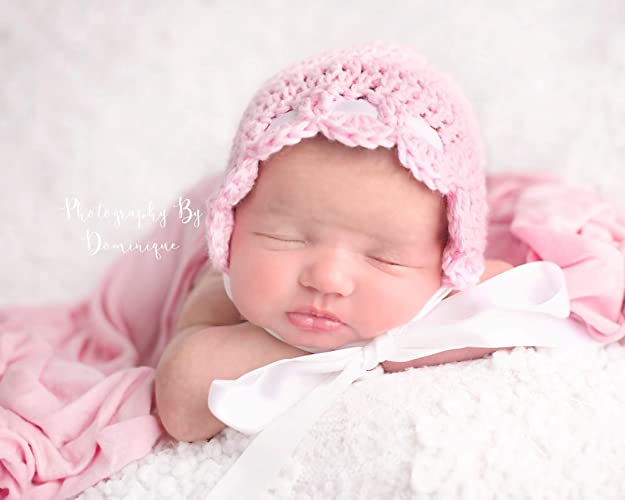 Image Unavailable. Image not available for. Color  Newborn Baby Bonnet 6f7567761b2b