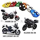 CNC Aluminum Motorcycle Side Stand Pad Enlargement Plate Kickstand Extension for BMW F800R 2009-14 HP2 SPORT 08-10 R1200S 06-08