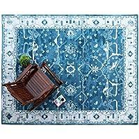 BD Designs 5 x 8 Mathison BlueTraditional Persian 100% Wool Rugs & Carpet