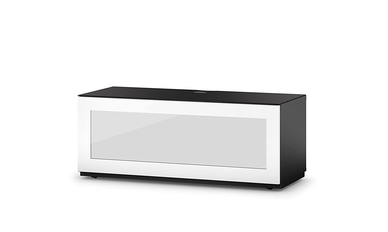Sonorous Sta 110i Blk Wht Bw H Ngende Meuble Tv Bas Avec Socle  # Meuble Tv Infrarouge