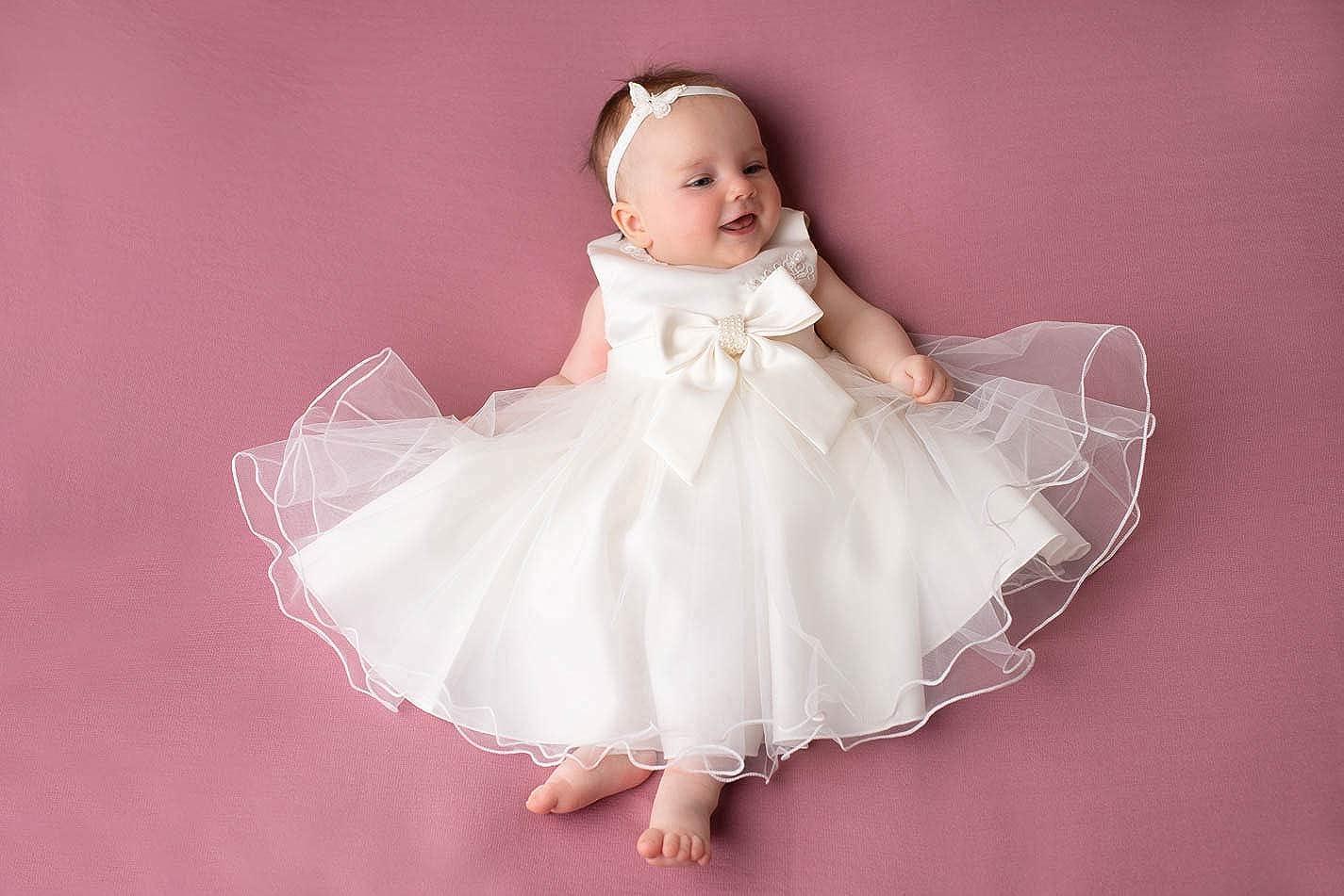 Little Castle Garden Elena Taufkleid Hochzeitskleid Sommer Festkleid Kleid Ivory