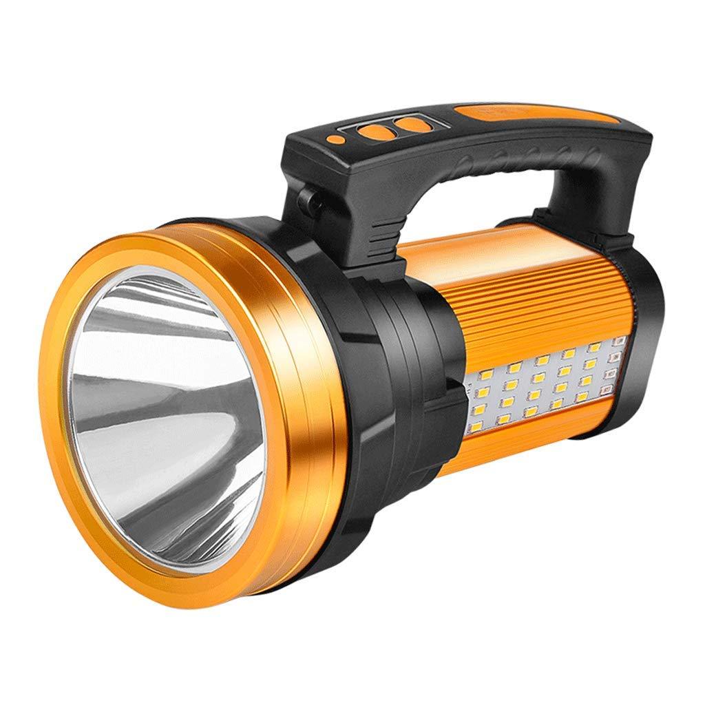 JU FU Taschenlampe, Blendung Wiederaufladbare super helle Multi-Funktions-Outdoor-LED Tragbare Suchscheinwerfer |