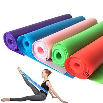 Yeying123 Tirador De Látex para Yoga con Hombros Abiertos ...