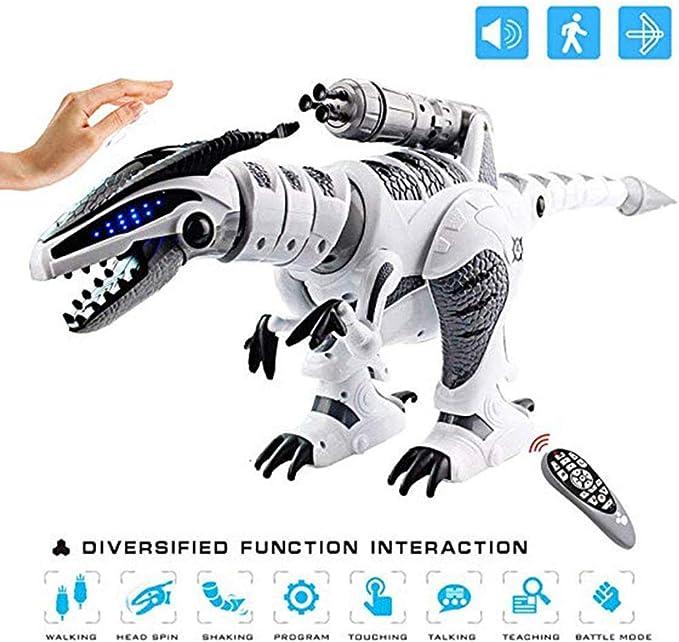 Spray /électrique Incroyable de Dinosaure Spray Spray Marche Marcher LED allument Le mod/èle de Robot de Dinosaure sonore Cadeaux sympas pour gar/çons Filles Enfants SimpleLife Dinosaur Toy