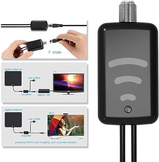 Amplificador de señal HDTV digital para cable de TV, antena de ...