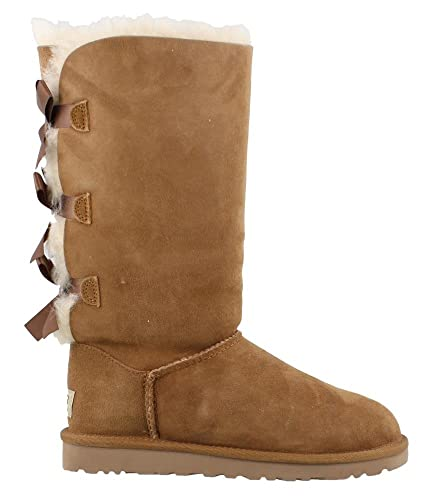 Amazon.com: UGG Bailey alto con lazo para mujer: Shoes