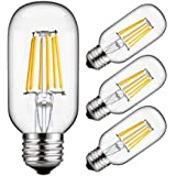 BOKT LED Light Bulb 2W T45 Vintage Edison Mini LED Filament 2700K Warm White Incandescent Bulb Replacement E27 Base 220V 4 Pack (2)