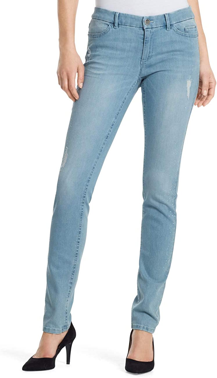 heroin Get used to doubt  MARC CAIN SPORTS Women's KS 82.78 D39 Skinny Jeans, Blue (Baby Blue 351),  W26/L31: Amazon.co.uk: Clothing