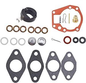 labwork Carburetor Rebuild Repair Kit with Float Fit for Johnson Evinrude 1.5 2 3 4 5 5.5 6 HP 439071 18-7043