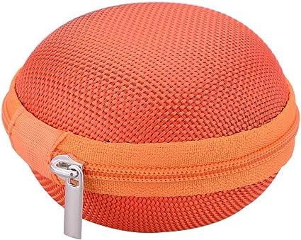 Mini EVA Earphone Carry Storage Case Bag Earbud Headphone Cable Protector Boxes
