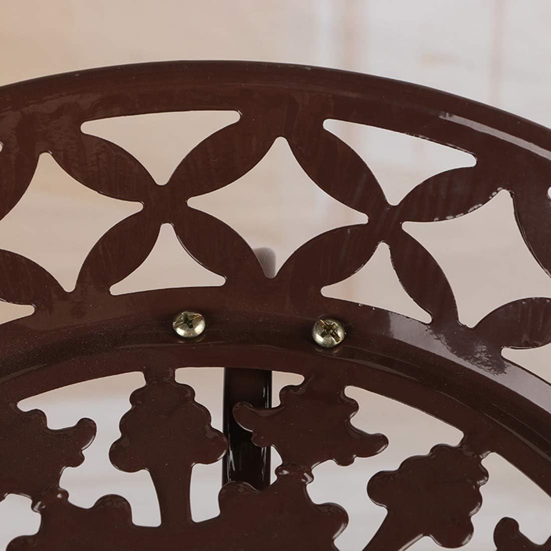 Esterno,78 x 31cm Interno Porta Piante in Ferro Portavasi Fioriera Decorativa per Balcone MAJOZ0 Scaffale Porta-Fiori con 2 Strati Giardino