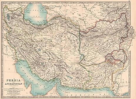 Amazon sw asia british baluchistan zhob sewistan ambiguous sw asia quotbritish baluchistanquot zhob sewistan ambiguous borders johnston 1906 sciox Images