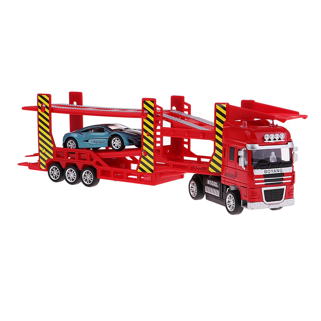 SM SunniMix 1/50 Juquetes de Coche de Transporte Camión ...