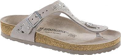79a8521fd9c6 Birkenstock Gizeh Nubuck Leather Regular Crafted Rivets Avario Size EU 37 -  US L6 M4