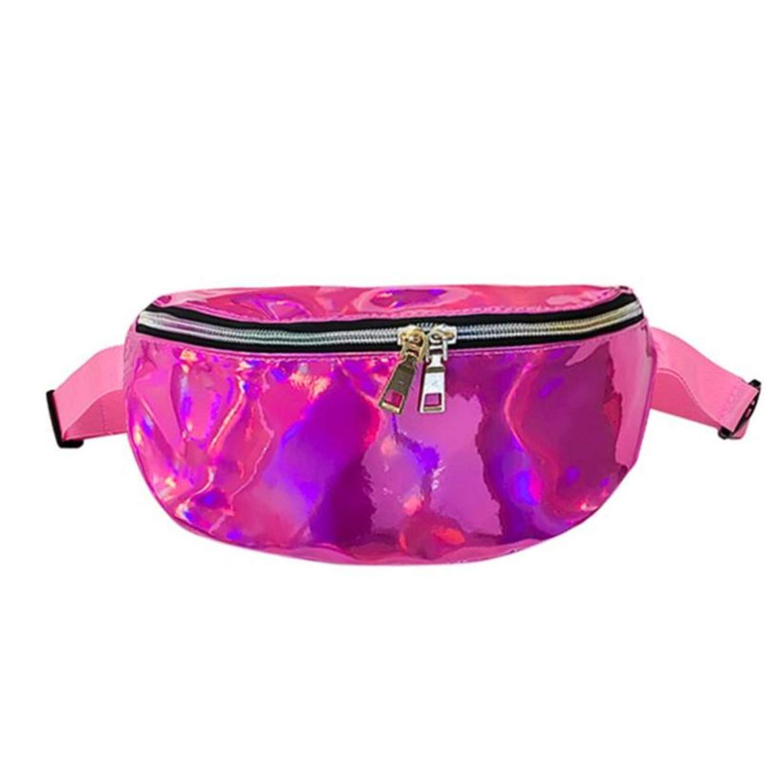 Amazon.com: Waist Bag Chest Bag Women Shouler Bag Fanny Pack ...