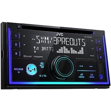 JVC KW-R930BT Receptor Multimedia para Coche Negro 50 W Bluetooth - Radio para Coche