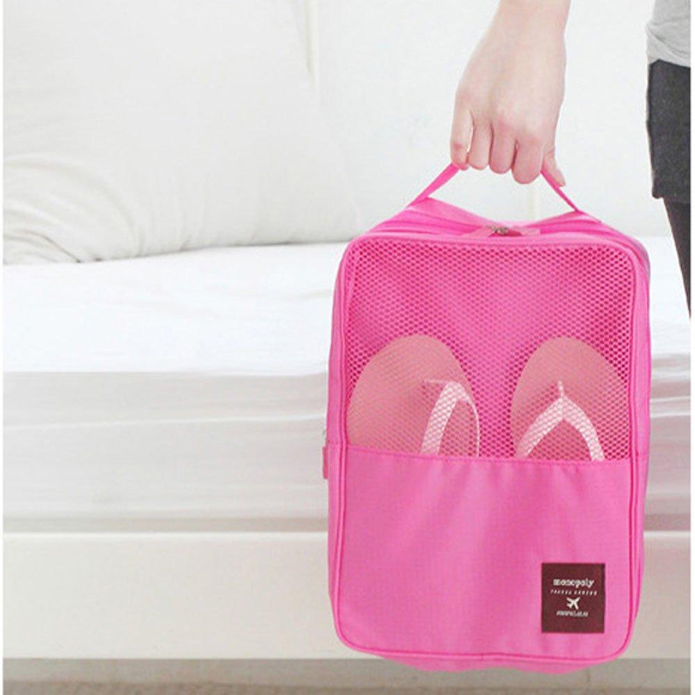 DELEY Kit De Viaje Zapatos Ropa Interior Camping Bolso Del Almacenaje Neceser