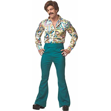 1c09794d Amazon.com: 70s Disco Dude Adult Costume XL: Clothing