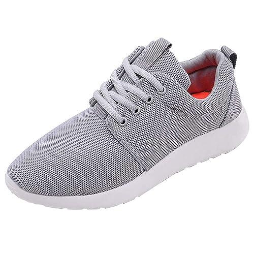 Moda Zapatillas Hombres Deporte Running Zapatos para Correr Deportivas Gimnasio Sneakers Deportivas Padel Transpirables: Amazon.es: Zapatos y complementos
