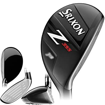 Srixon Z355 Hibridos Golf, Hombre, Negro, 4: Amazon.es ...