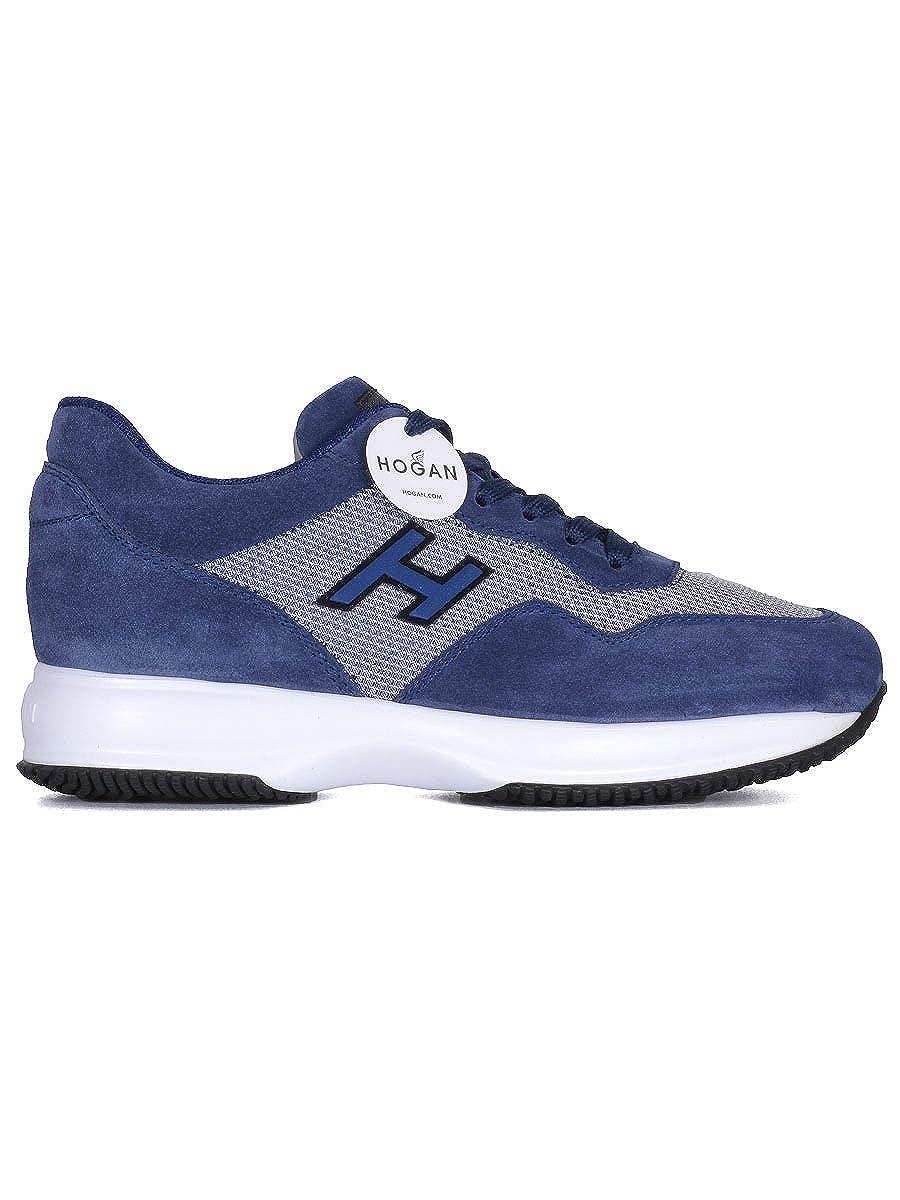 Hogan, & Herren Trekking- & Hogan, Wanderstiefel  blau blau 44.5 b14023