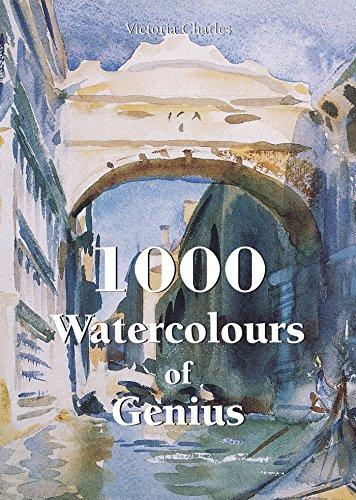 1000 Watercolours of Genius (Book)