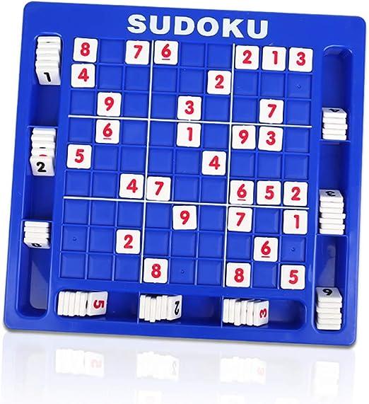 YRE Rompecabezas de los niños Juguetes 3-7 años de Edad, Miyagi Sudoku Juego de Mesa, Entrenamiento de Inteligencia para desarrollar los niños Juguetes de educación temprana: Amazon.es: Hogar