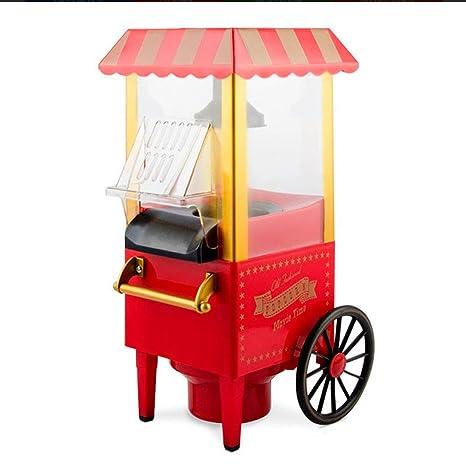 Palomitero vintage, Máquina de hacer palomitas de aire caliente estilo retro, Popcorn maker,