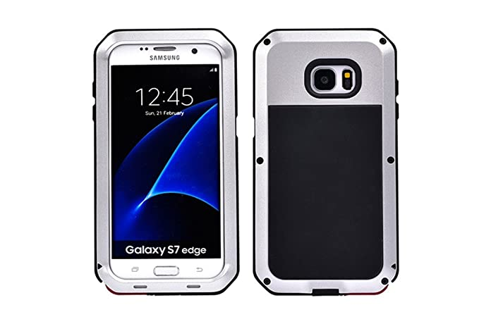 Amazon.com: Galaxy S7 Edge Case Echeer Armor Tank Aluminum ...