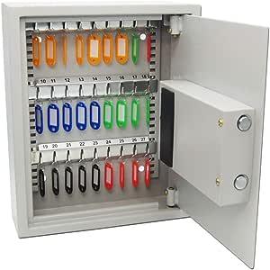 Armarios para llaves Caja de clave de contraseña electrónica Gabinete de gestión de llaves de hierro Caja de llave con cerradura de seguridad montada en la pared Estuche de llave con etiqueta