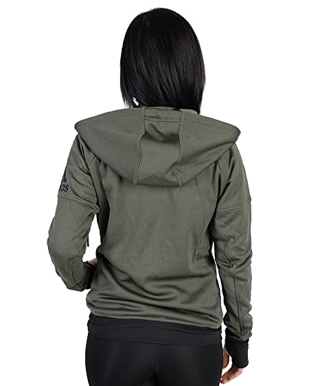 afc6663d8cc8 Adidas Womens Adidas Infinite Series Daybreaker Hoodie Army Green S   Amazon.co.uk  Sports   Outdoors