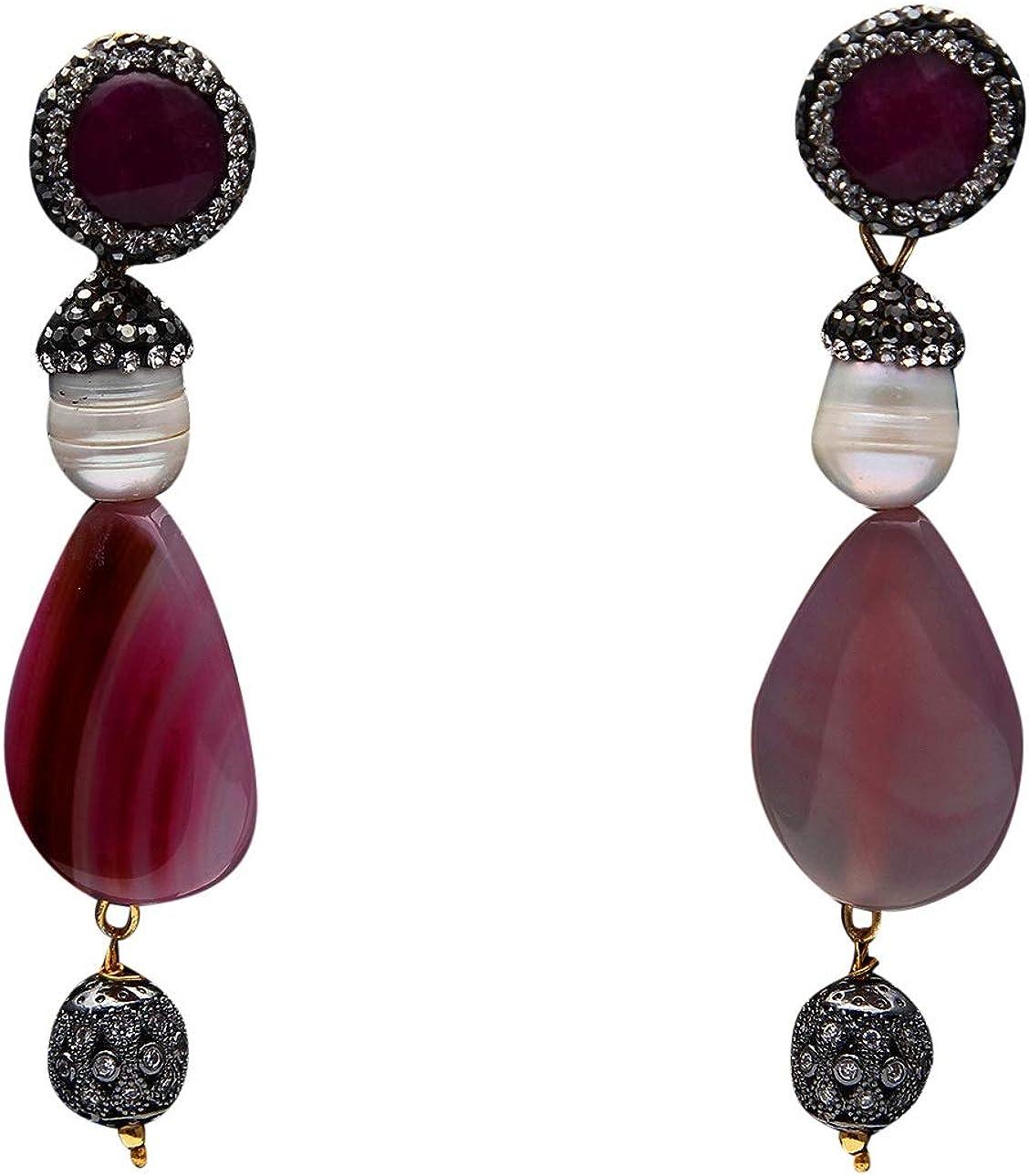 Sterling Silver Earrings Jewelry Western Modern Mexico Silver Dangle Earrings Retro Casual