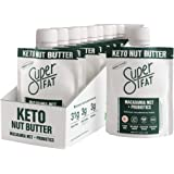 SuperFat Nut Butter Keto Snacks - Macadamia & Almond Nut Butter Fat Bomb Paleo Snack For Energy, Metabolism & Brain Function,