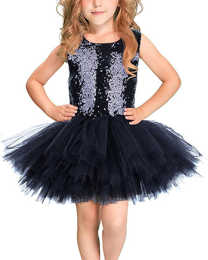 Newmao Toddler Girls Tutu Tulle Party Ballet Dance Dress Summer Princess Costume