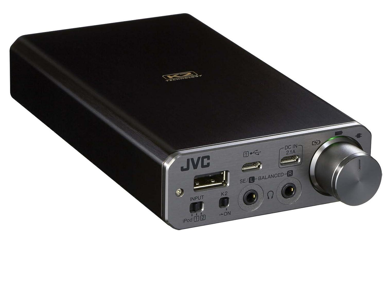 JVC ポータブルヘッドホンアンプ ハイレゾ音源対応 SU-AX01 B01LWU4N2S