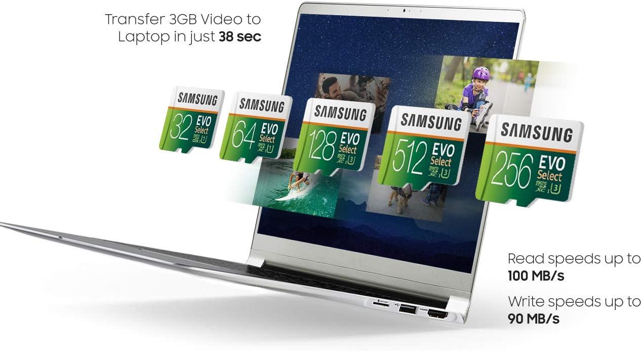 Samsung EVO Select 128GB microSDXC