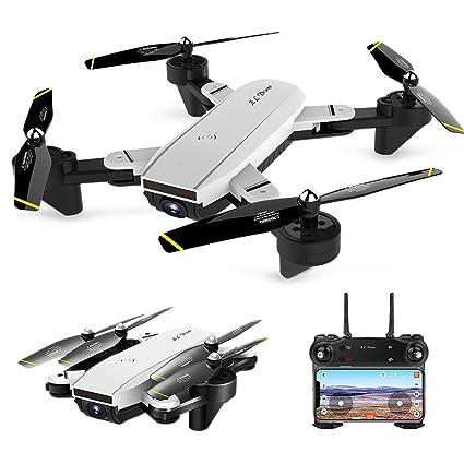YAYY RC Drone avión de Control Remoto Plegable Abejón 1080P WiFi ...