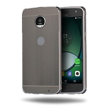 zl one Carcasa para Motorola Moto Z Play Funda Aluminio ...