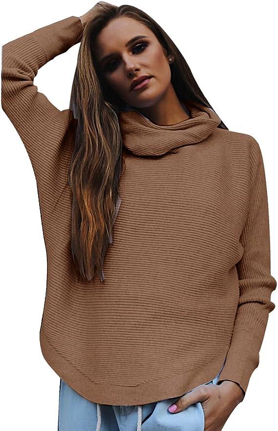 Zhiyuanan Femme Pull en Maille Sweater T-