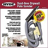 Hyde Tools 09170 Dust Free Drywall Vacuum Sander Kit