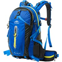 【送腰包】Topsky 远行客 大容量旅行双肩包 休闲旅游背包电脑包男女骑行徒步运动背包运动户外登山包 40L50L 多色可选【送防雨罩】T33601