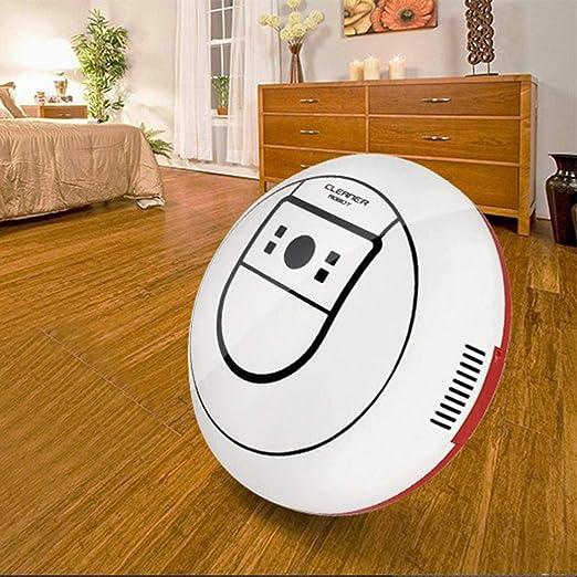 CHIGANT Robots Aspiradores Máquina de Limpieza Recargable Automática de Aspiradora Inteligente Robot Barredora Creativa: Amazon.es: Hogar