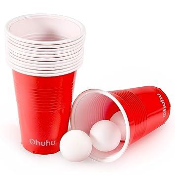 Ohuhu Vasos De Plastico Desechables Para Fiestas 50pcs Ideales Para