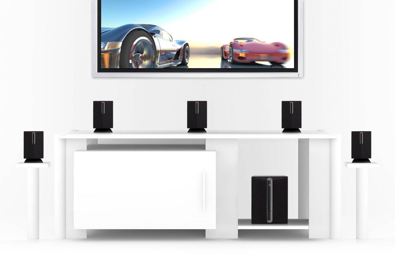Amazon.com: Equipos de Sonido para Casa - Sistema de bocinas iLive - Modelo HT050B de 5.1 Canales: Electronics