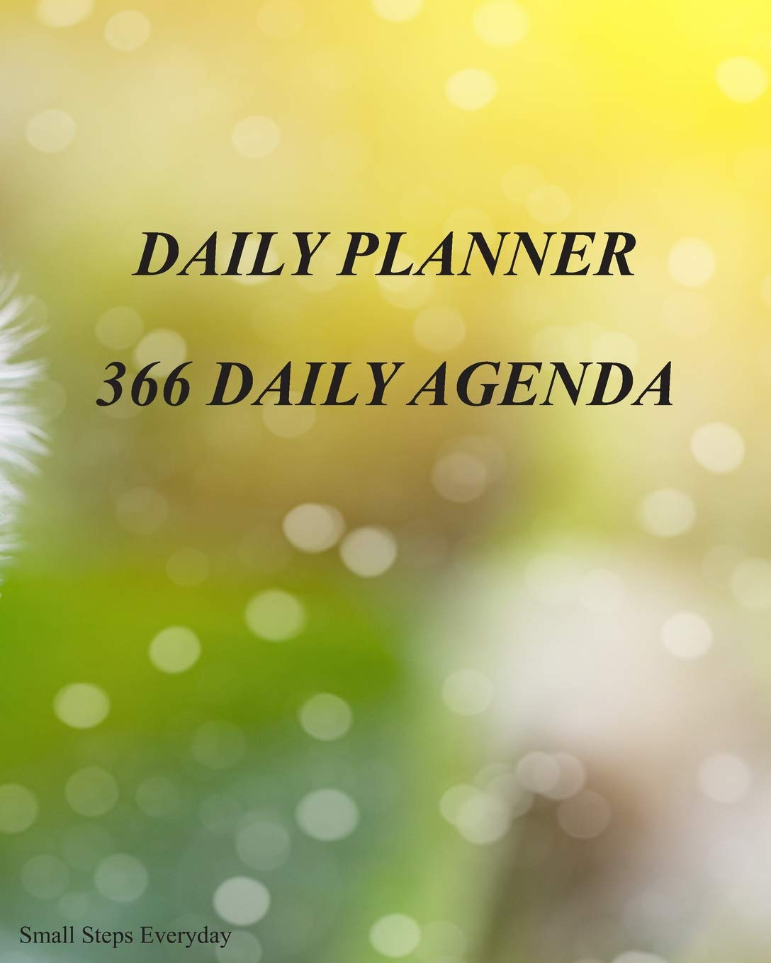 Small Steps Everyday Daily Planner 366 Daily Agenda: Your ...