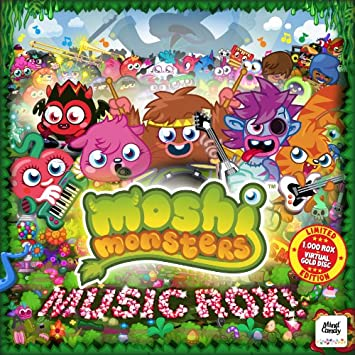 Moshi monsters music rox limited edition