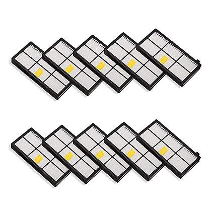 Gusnilo HEPA® Filtros de Repuesto para iRobot Roomba 860 870 877 880 890 805 960